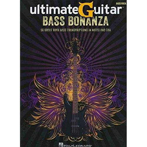 - UltimateGuitar: Bass Bonanza: Songbook für Bass-Gitarre (Bass Recorded Versions) - Preis vom 11.05.2021 04:49:30 h
