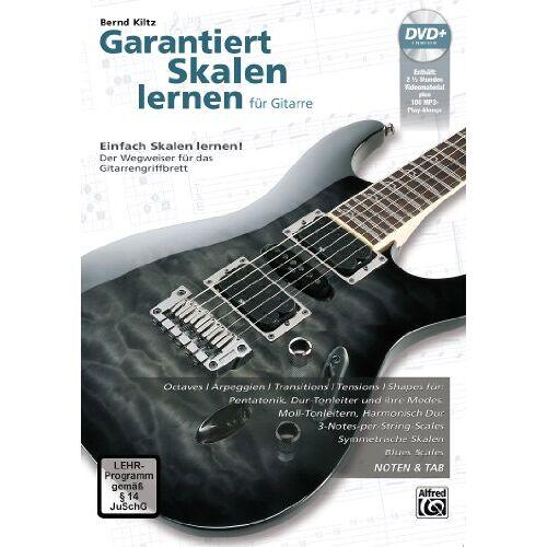 Bernd Kiltz - Garantiert Skalen lernen für Gitarre: Einfach Skalen lernen - Der Wegweiser für das Gitarrengriffbrett mit DVD! - Preis vom 22.01.2021 05:57:24 h