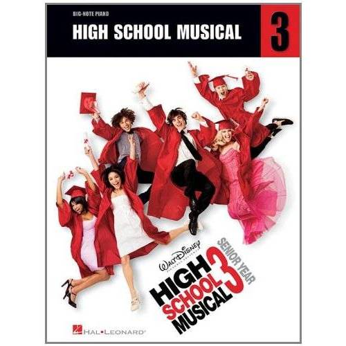 Various - High School Musical 3 (Big Note Piano) Pf - Preis vom 28.02.2021 06:03:40 h