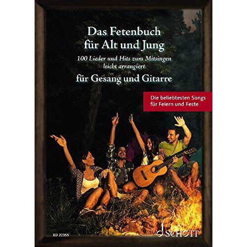 Sebastian Müller - Das Fetenbuch für Alt und Jung: 100 Lieder und Hits zum Mitsingen, leicht arrangiert für Gesang und Gitarre. Gesang und Gitarre. Liederbuch. (Liederbücher für Alt und Jung) - Preis vom 28.02.2021 06:03:40 h