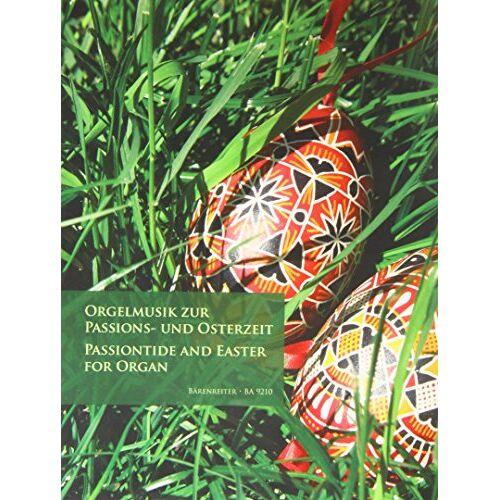 - Orgelmusik zur Passions- und Osterzeit - Preis vom 31.03.2020 04:56:10 h