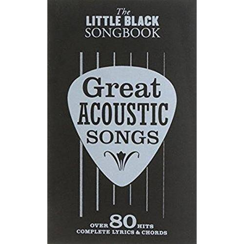 Music Sales - The Little Black Songbook: Great Acoustic Songs: Songbook für Gitarre - Preis vom 19.01.2021 06:03:31 h