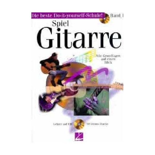 Jeff Schroedl - Spiel Gitarre 1. Mit CD. Alle Grundlagen auf einen Blick - Preis vom 05.03.2021 05:56:49 h