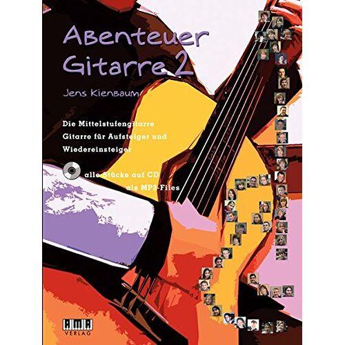 Jens Kienbaum - Abenteuer Gitarre 2: Die Mittelstufengitarre. Gitarre für Aufsteiger und Wiedereinsteiger - Preis vom 22.01.2021 05:57:24 h