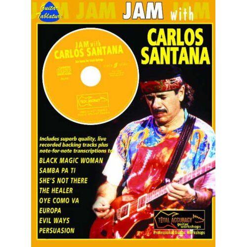 Carlos Santana - Jam with Carlos Santana: (Guitar Tab) - Preis vom 26.01.2021 06:11:22 h