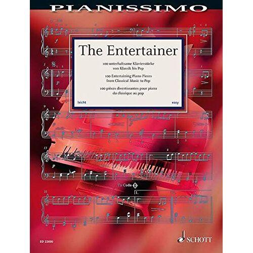 Hans-Günter Heumann - Pianissimo: The Entertainer: 100 unterhaltsame Klavierstücke von Klassik bis Pop. Klavier. - Preis vom 08.05.2021 04:52:27 h