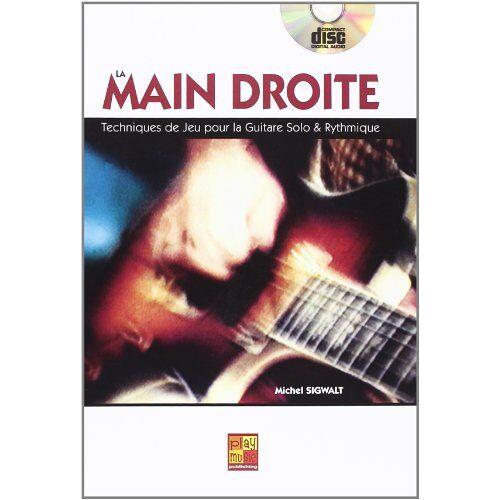 Sigwalt Michel - Sigwalt Michel La Main Droite Guitar Tab Book/Cd French - Preis vom 25.02.2021 06:08:03 h