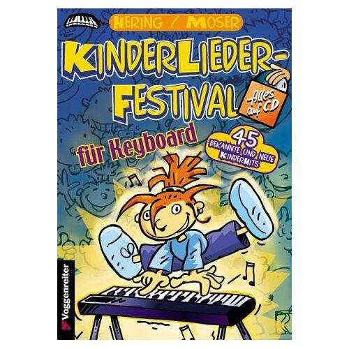 Wolfgang Hering - KinderLieder-Festival für Keyboard, m. Audio-CD - Preis vom 25.02.2021 06:08:03 h