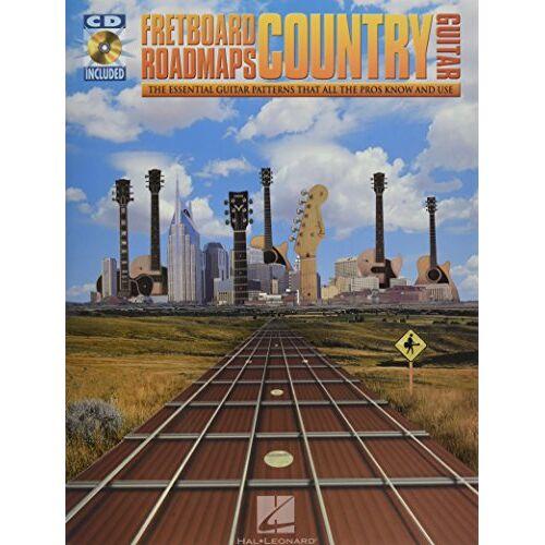 - Fretboard Roadmaps Country Bk/Cd: Noten, CD für Gitarre - Preis vom 28.02.2021 06:03:40 h