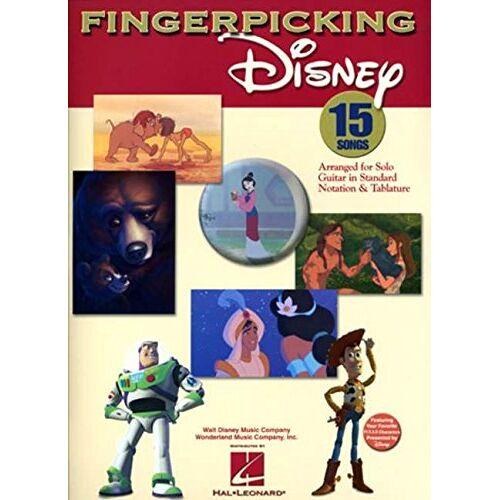 - Fingerpicking Disney (Guitar Book): Songbook, Tabulatur für Gitarre (Notation & Tablature) - Preis vom 18.04.2021 04:52:10 h