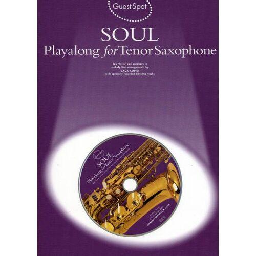 Various - Guest Spot Soul Playalong For Tenor Saxophone Tsax Book/Cd - Preis vom 05.03.2021 05:56:49 h
