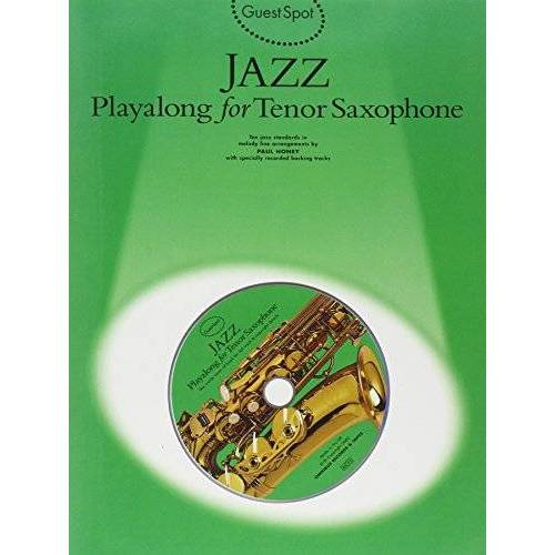 Paul Honey - Guest Spot: Jazz Playalong for Tenor Saxophone - Preis vom 20.01.2021 06:06:08 h