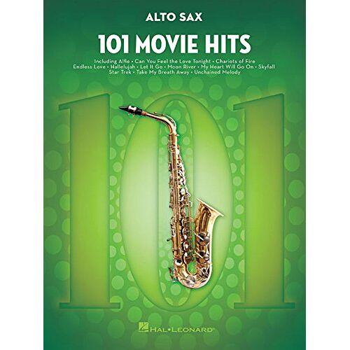 Hal Leonard - 101 Movie Hits For Alto Saxophone: Noten, Sammelband für Alt-Saxophon - Preis vom 24.02.2021 06:00:20 h