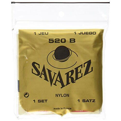 - Savarez 520 B 520 B Low Tension Saiten Classic Gitarrensaiten Set weiß - Preis vom 07.04.2020 04:55:49 h