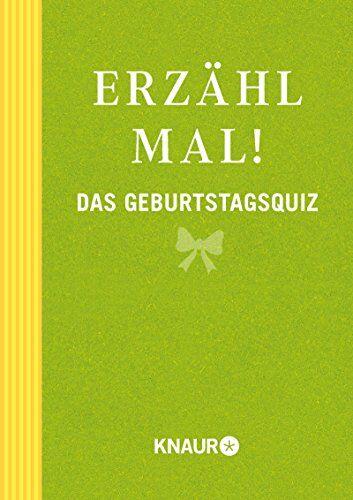 Vliet, Elma van - Erzähl mal! Das Geburtstagsquiz - Preis vom 23.10.2021 04:56:07 h