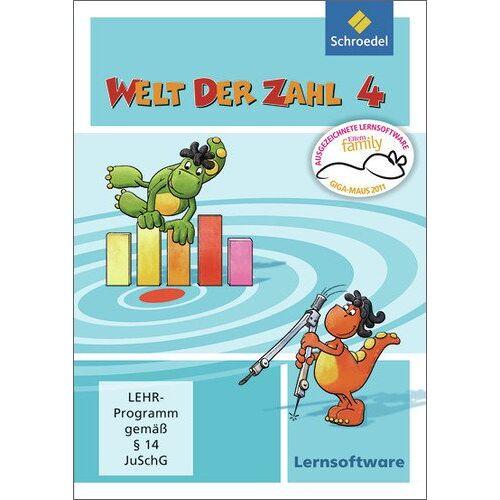 - Welt der Zahl - Ausgabe 2009: Lernsoftware 4 (Welt der Zahl Lernsoftware, Band 15) - Preis vom 01.03.2021 06:00:22 h