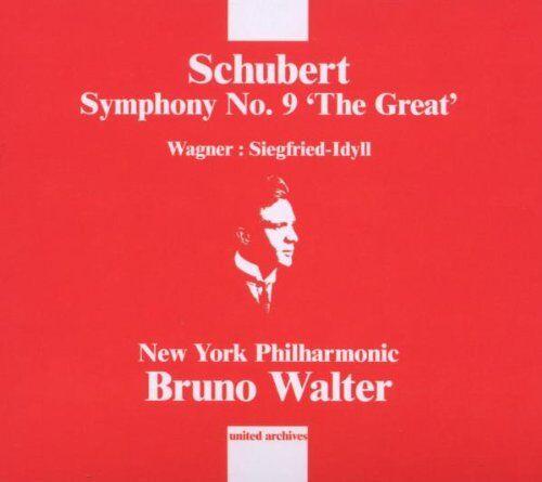 B. Walter - Sinfonie 9/Siegfried-Idyll - Preis vom 14.03.2021 05:54:58 h