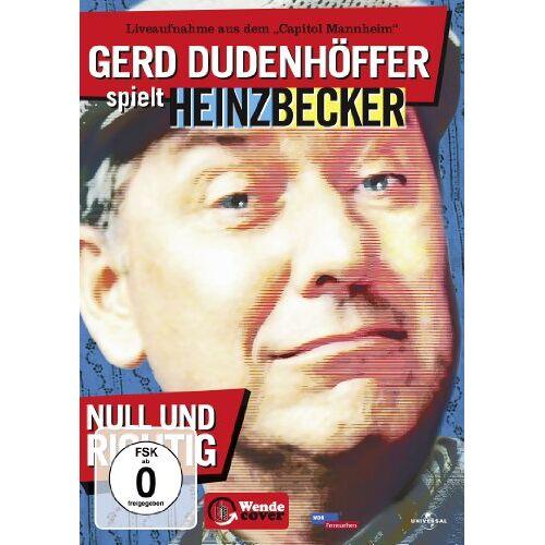 Gerd Dudenhöffer - Gerd Dudenhöffer spielt Heinz Becker - Null und richtig! - Preis vom 19.06.2021 04:48:54 h