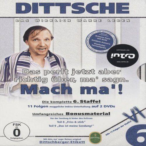 Olli Dittrich - Dittsche: Das wirklich wahre Leben - Die komplette 6. Staffel [2 DVDs] - Preis vom 16.05.2021 04:43:40 h