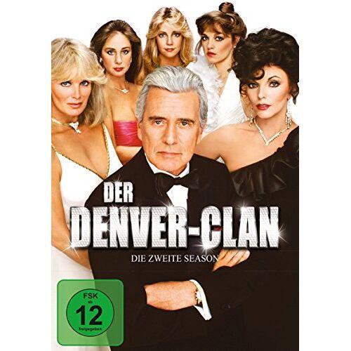 John Forsythe - Der Denver-Clan - Season 2 [6 DVDs] - Preis vom 11.06.2021 04:46:58 h