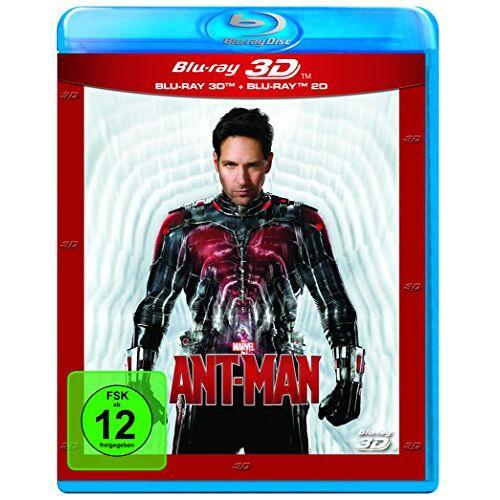 Peyton Reed - Ant-Man (+ Blu-ray) [Blu-ray 3D] - Preis vom 23.07.2021 04:48:01 h