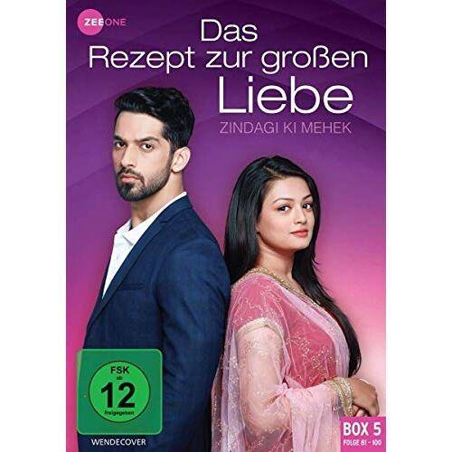 Cariappa Appaya - Das Rezept zur großen Liebe - Zindagi Ki Mehek (Box 5, Folge 81-100) [3 DVDs] - Preis vom 16.05.2021 04:43:40 h