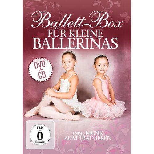 - Ballett-Box für kleine Ballerinas [ CD + DVD] - Preis vom 22.06.2021 04:48:15 h