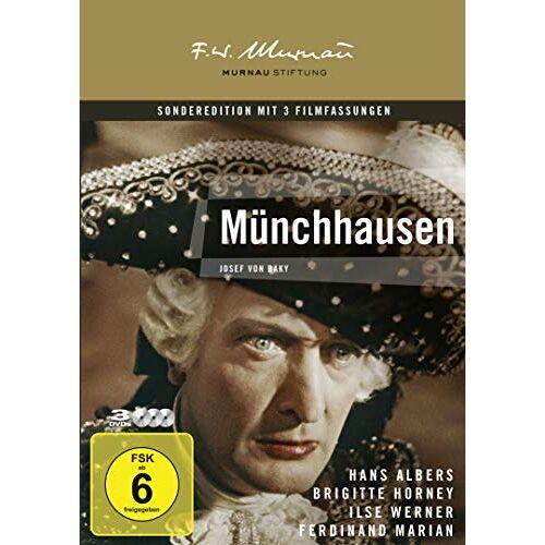 Josef von Báky - Münchhausen [3 DVDs] - Preis vom 14.06.2021 04:47:09 h