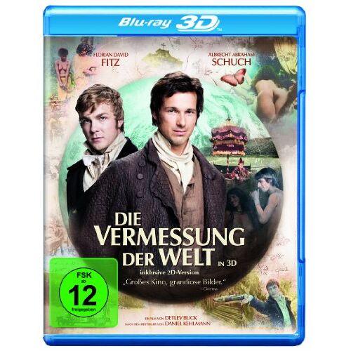Buck, Detlev W. - Die Vermessung der Welt (+ Blu-ray) (inkl. 2D-Version) - Preis vom 11.06.2021 04:46:58 h