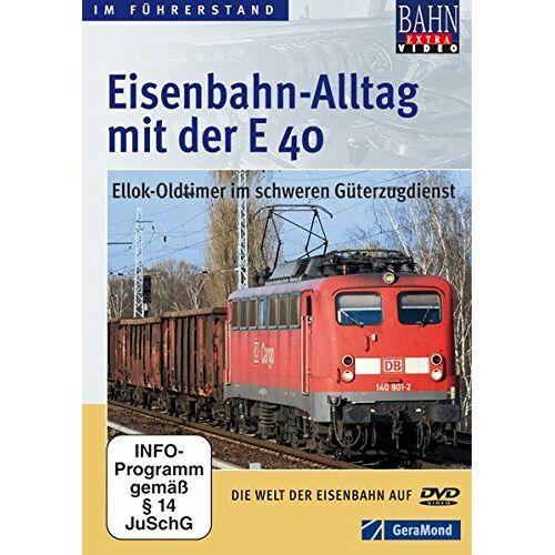GeraMond - Eisenbahn Alltag mit der E 40 als DVD: Dem Lokführer auf einer Führerstandsmitfahrt mit dem Eisenbahn Oldtimer Ellok E 40 über die Schulter schauen - in 80 Minuten als Video - Preis vom 23.09.2021 04:56:55 h