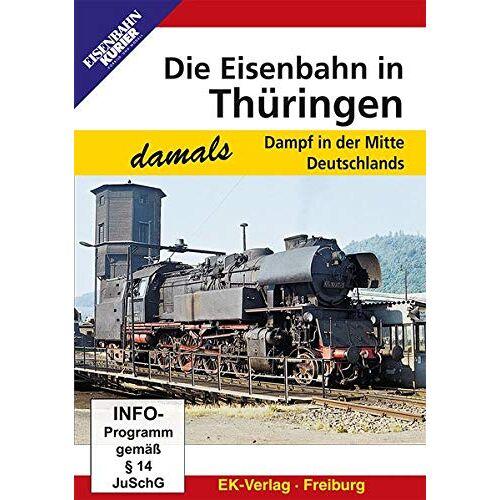 - Die Eisenbahn in Thüringen - Dampf in der Mitte Deutschlands - Preis vom 24.07.2021 04:46:39 h