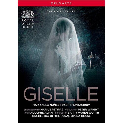 Adolphe Adam - Adolphe Adam: Giselle (Royal Opera House, 2016) [DVD] - Preis vom 11.06.2021 04:46:58 h