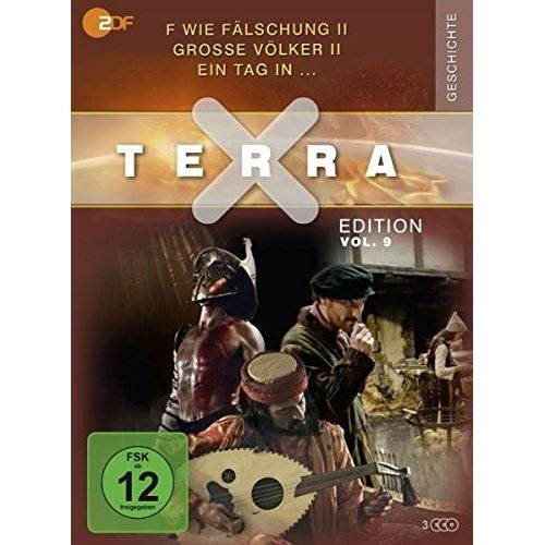 Judith Voelker - Terra X - Edition Vol. 9 F wie Fälschung II / Große Völker II / Ein Tag in … (3 DVDs) - Preis vom 13.06.2021 04:45:58 h