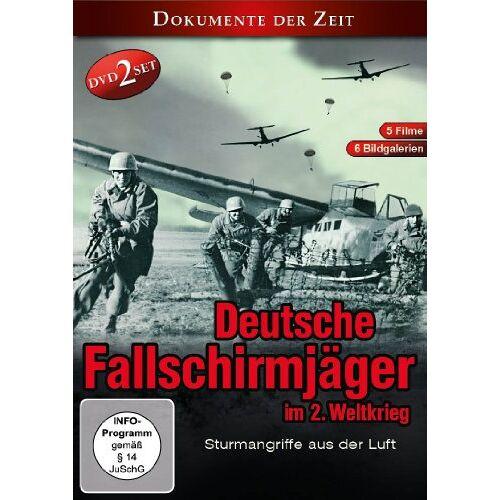 Fallschirmjäger - Deutsche Fallschirmjäger im 2. Weltkrieg ( 2 DVD BOX ) - Preis vom 21.06.2021 04:48:19 h