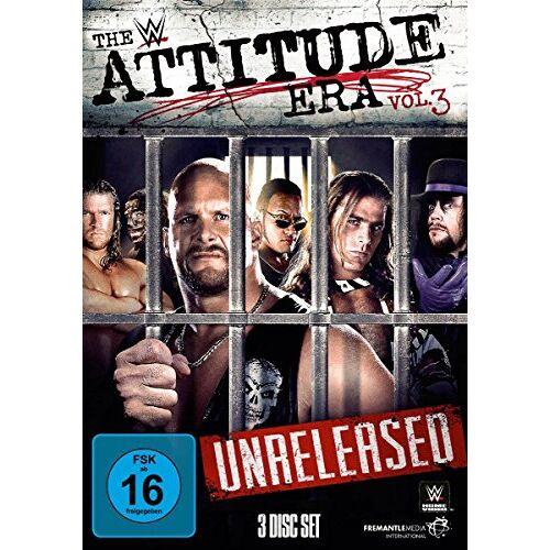 Undertaker - WWE - The Attitude Era, Vol. 3 [3 DVDs] - Preis vom 13.06.2021 04:45:58 h
