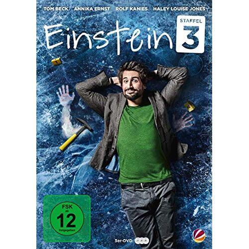 Oliver Dommenget - Einstein - Staffel 3 [3 DVDs] - Preis vom 15.06.2021 04:47:52 h