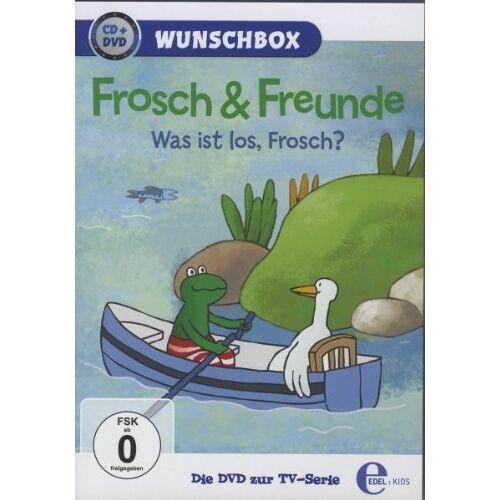 - Frosch & Freunde - Wunschbox : Was ist los, Frosch? [2 DVDs] - Preis vom 17.06.2021 04:48:08 h