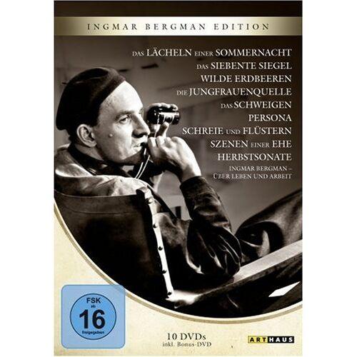 Ingmar Bergman - Ingmar Bergman Edition [10 DVDs] - Preis vom 20.06.2021 04:47:58 h