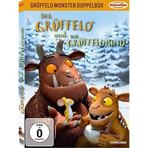 Jakob Schuh - Grüffelo-Monster-Doppelbox: Der Grüffelo / Das Grüffelokind (limitierte Version in O-Card)[2 DVDs] - Preis vom 15.09.2021 04:53:31 h