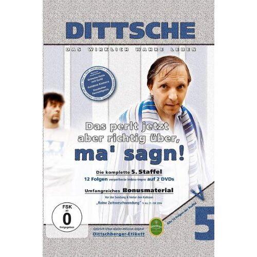 Olli Dittrich - Dittsche/Das perlt jetzt aber richtig über, ma' sagn! - 5. Staffel [2 DVDs] - Preis vom 17.06.2021 04:48:08 h
