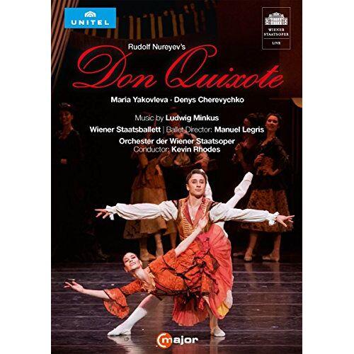 Ludwig Minkus - Ludwig Minkus: Rudolf Nureyev's Don Quixote (Wiener Staatsoper, 2016) [DVD] - Preis vom 17.06.2021 04:48:08 h