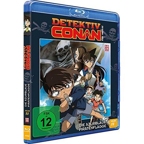 - Detektiv Conan - 11. Film: Die azurblaue Piratenflagge [Blu-ray] - Preis vom 12.06.2021 04:48:00 h