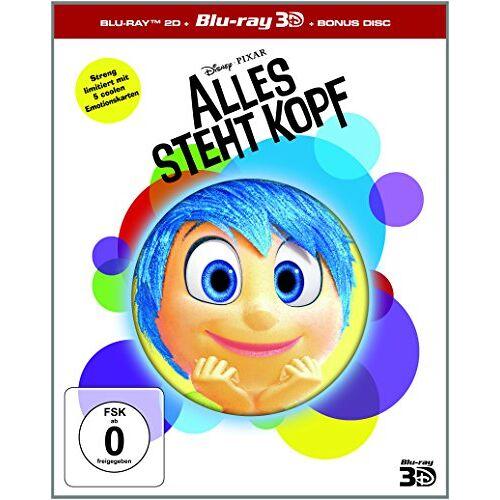 Peter Docter - Alles steht Kopf 3D+2D BD - Limited Edition [3D Blu-ray] - Preis vom 26.07.2021 04:48:14 h