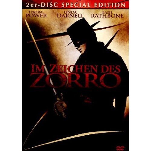 Rouben Mamoulian - Im Zeichen des Zorro [Special Edition] [2 DVDs] - Preis vom 16.06.2021 04:47:02 h