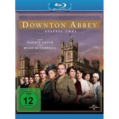 Maggie Smith - Downton Abbey - Staffel 2 [Blu-ray] - Preis vom 13.06.2021 04:45:58 h