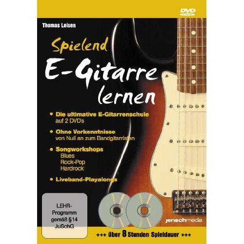 Jürgen Jensch - Spielend E-Gitarre Lernen (Doppel-DVD) - Die ultimative E-Gitarrenschule für Ein- und Umsteiger - Preis vom 15.06.2021 04:47:52 h