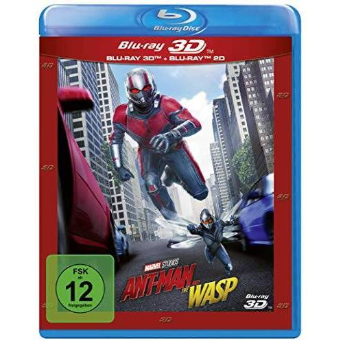 Peyton Reed - Ant-Man and the Wasp [3D Blu-ray] - Preis vom 23.07.2021 04:48:01 h