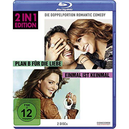 - Plan B für die Liebe/Einmal ist keinmal - 2 in 1 Edition [Blu-ray] - Preis vom 09.06.2021 04:47:15 h