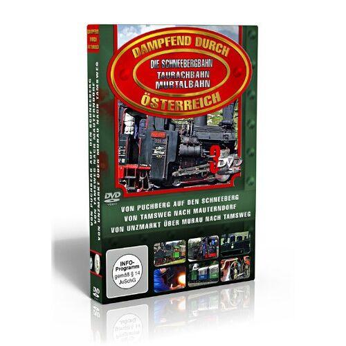 Various - Dampfend durch Österreich - Österreichs Eisenbahnen BOX 1 [3 DVDs] - Preis vom 11.10.2021 04:51:43 h