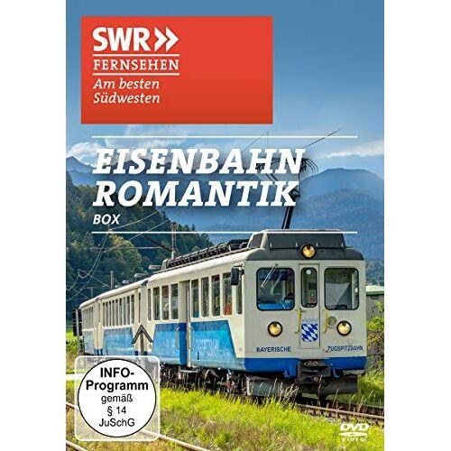 Dokumentation - SWR - Eisenbahn Romantik Box [2 DVDs] - Preis vom 23.09.2021 04:56:55 h